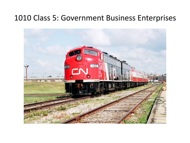 1010 class 5 government business enterprises n.