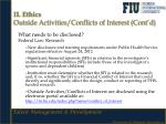 ii ethics outside activities conflicts of interest cont d2