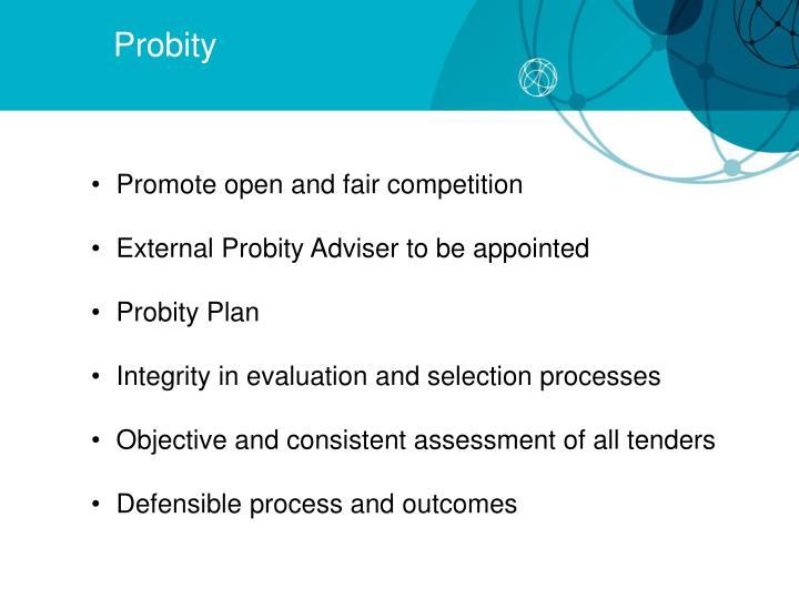 Probity