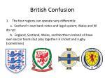 british confusion