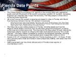 florida data points