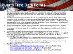 puerto rico data points
