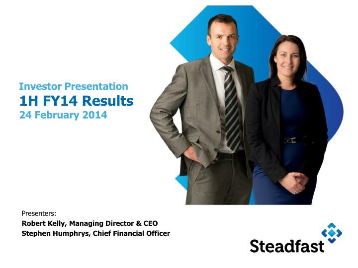 investor presentation 1h fy14 results 24 february 2014 n.