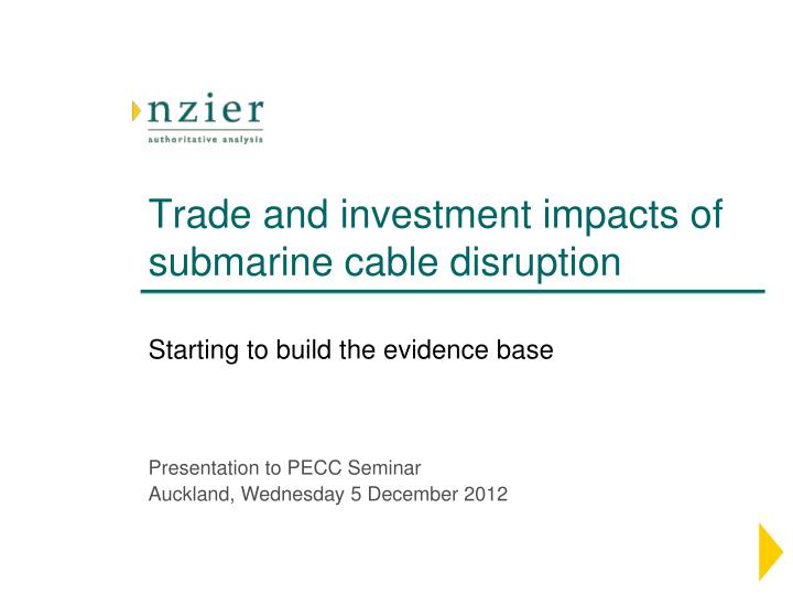 trade and investment impacts of submarine cable disruption n.