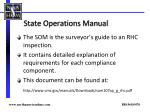 state operations manual