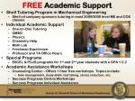 free academic support