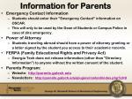 information for parents2