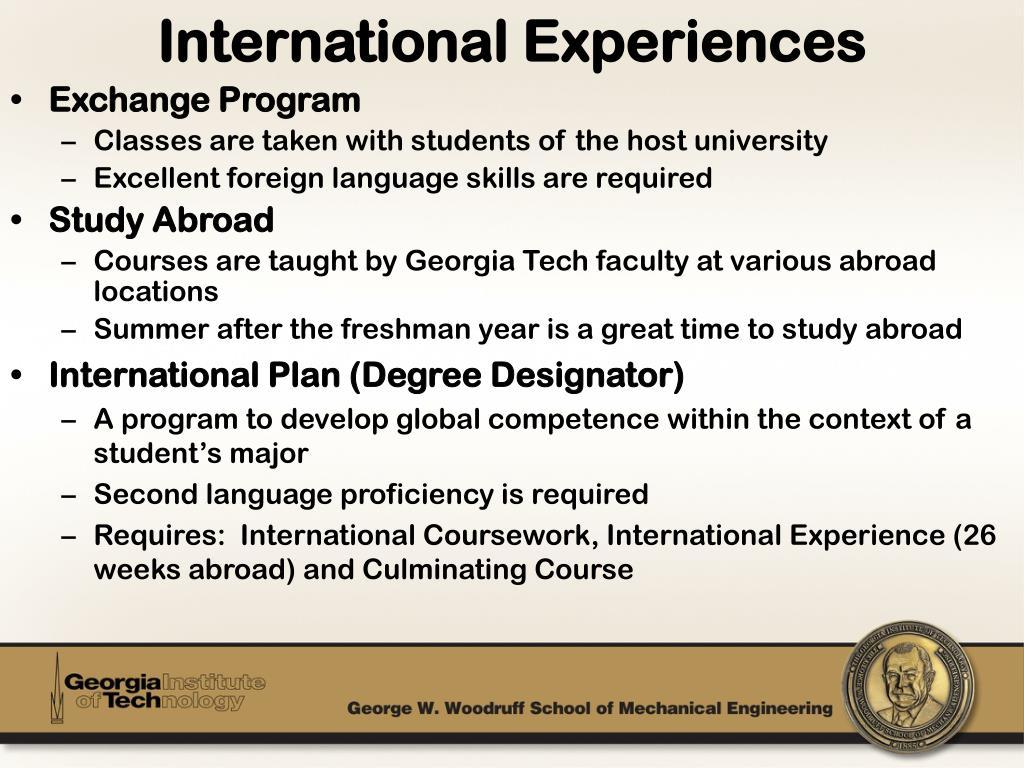 PPT - The George W  Woodruff School of Mechanical