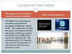causes of the crisis1