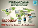 epc global portfolio