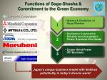 functions of sogo shosha commitment to the green economy