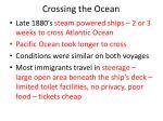 crossing the ocean