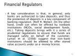 financial regulators1