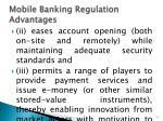 mobile banking regulation advantages1