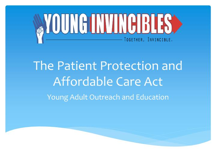 the patient protection and affordable care act n.