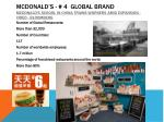mcdonald s 4 global brand mcdonald s school in china trains workers amid expansion video bloomberg