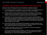2012 arc research programs19