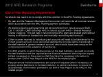 2012 arc research programs5