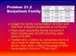 problem 21 2 benjelloun family