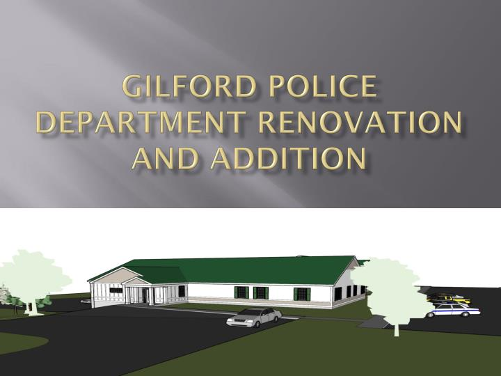 gilford police department renovation and addition n.
