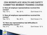 cra workplace health and safety committee member training course