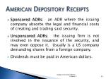 american depository receipts1