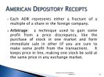 american depository receipts2