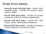 other stock indexes
