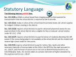 statutory language3