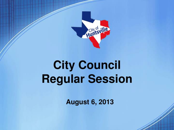 city council regular session n.