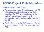 beess project 10 collaboration