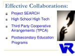 effective collaborations