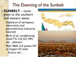 the dawning of the sunbelt