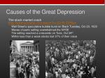 causes of the great depression1