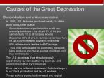 causes of the great depression3