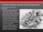 herbert hoover and the great depression1