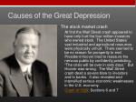 causes of the great depression2