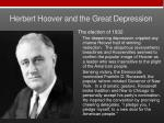 herbert hoover and the great depression4