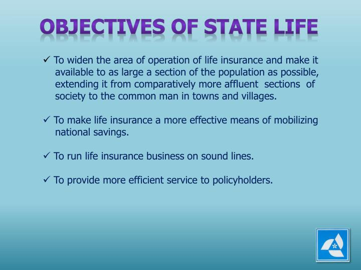 OBJECTIVES OF STATE