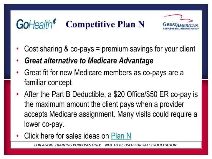 Competitive Plan N