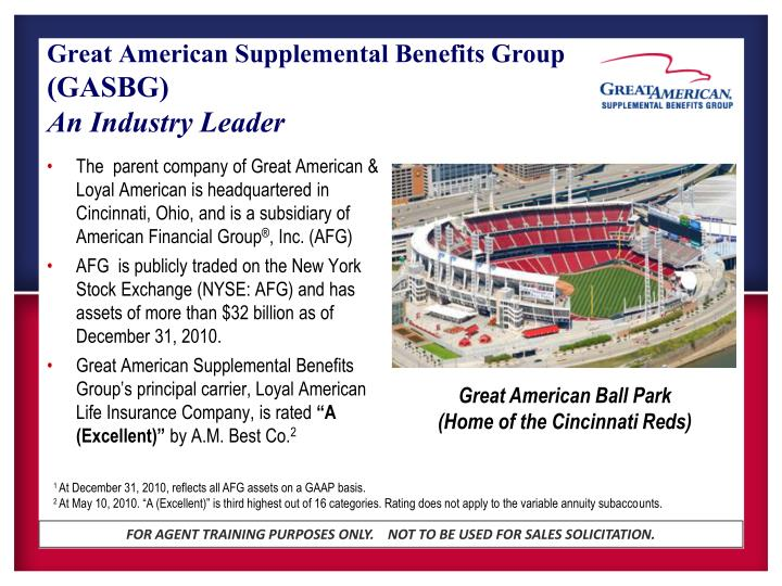 Great American Supplemental Benefits Group