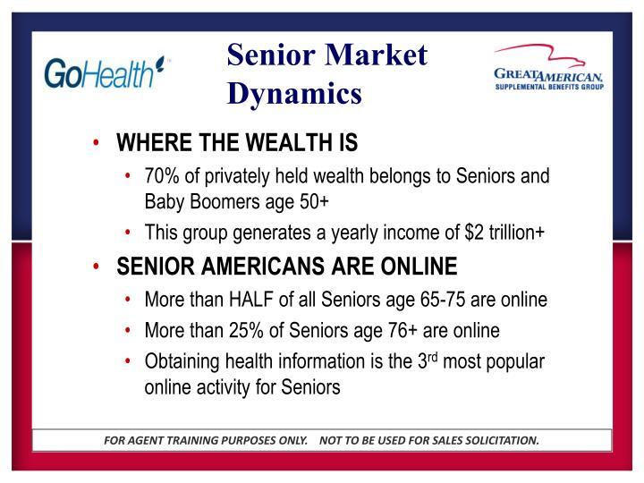 Senior market dynamics1
