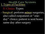 health care systems23