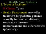 health care systems28