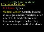health care systems29