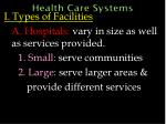 health care systems3