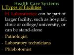 health care systems33