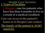 health care systems35