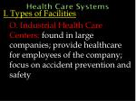 health care systems40