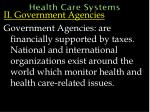 health care systems42